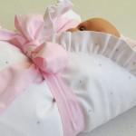 detail Stříbrná - růžová